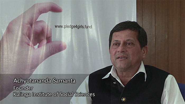 Achyutananda Samanta, Founder, Kalinga Institute of Social Sciences