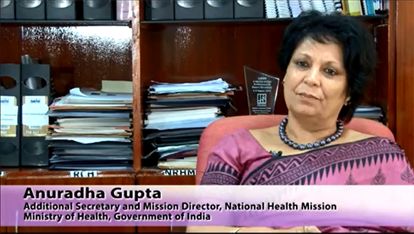 Anuradha Gupta, Additional Secretary and Mission Director, National Health Mission