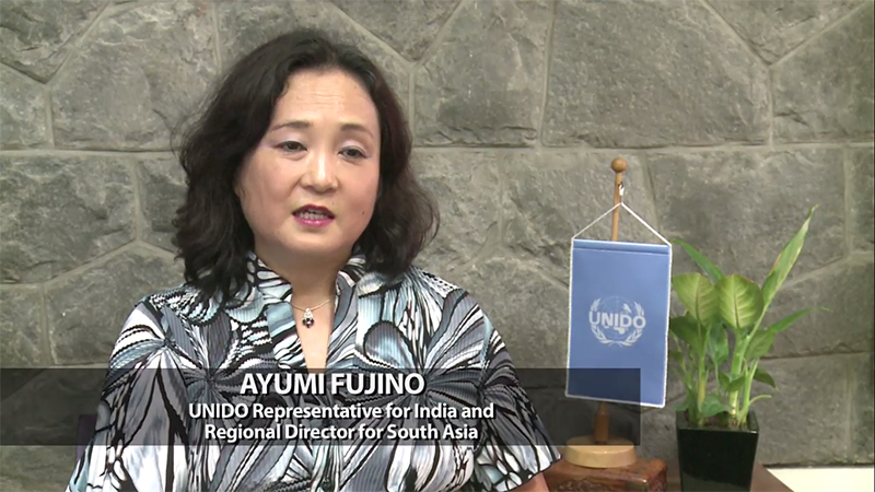 Ayumi Fujino, UNIDO Representative for India and Regional Director for South Asia