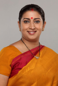 Smt. Smriti Zubin Irani Hon'ble Minister Of Human Resource Development