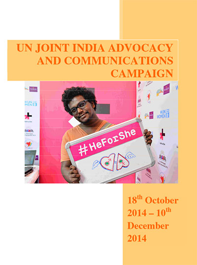 UN Joint India Advocacy and Communications Campaign
