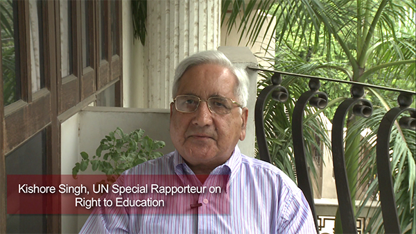 Kishore Singh, UN Special Rapporteur on Right to Education