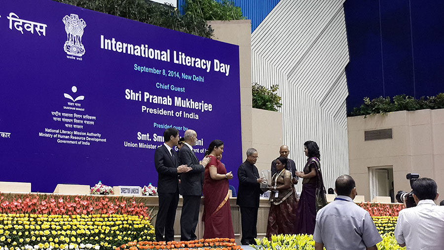 """Literacy and Sustainable Development"" 2014 International Literacy Day Celebrations"