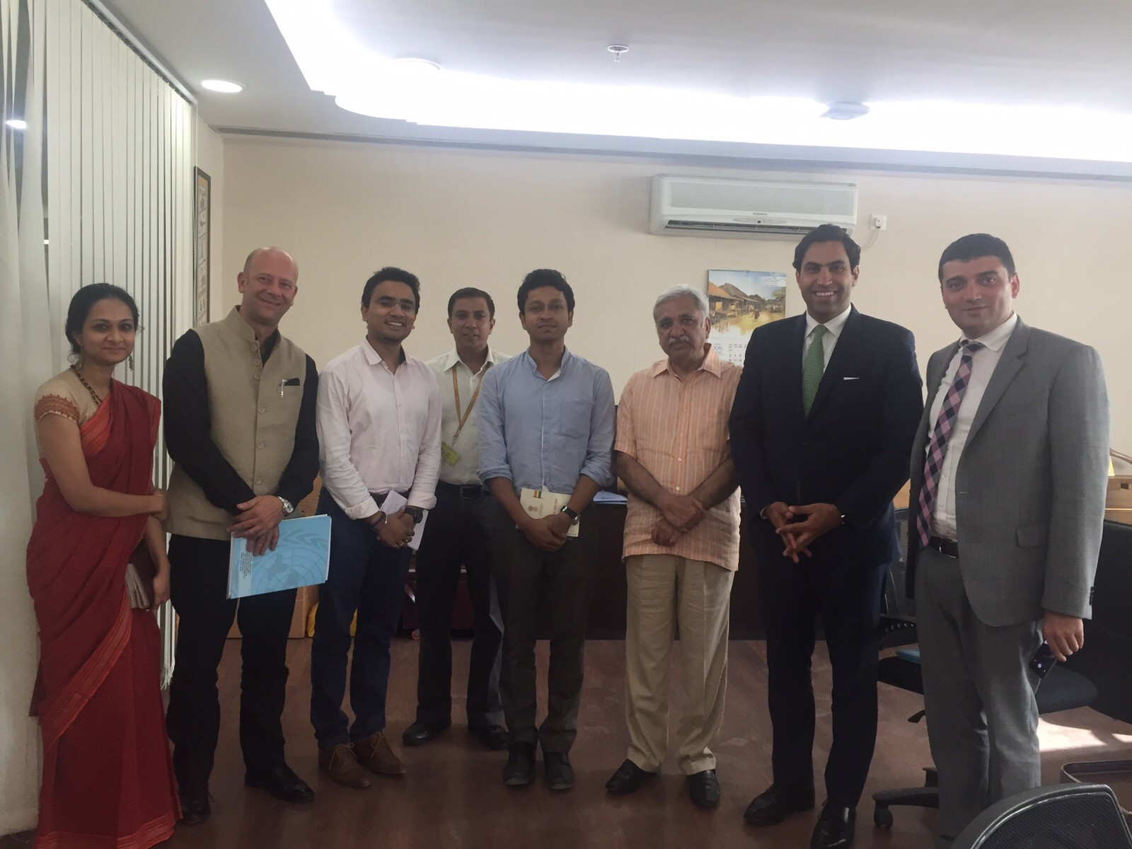 meetings with officials at India's Ministry of Youth Affairs and Sports and the Ministry of Skill Development and Entrepreneurship