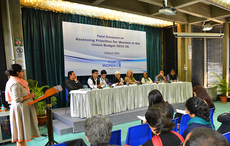 UN Women: Panel Discussion on the Union Budget