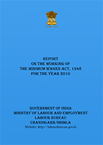 Report on the Working of the Minimum Wages Act, 1948