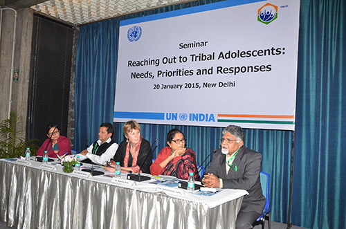 Reaching Out to Tribal Adolescents: Needs, Priorities and Response