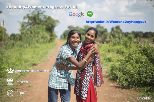#Equality4Women: Progress For All