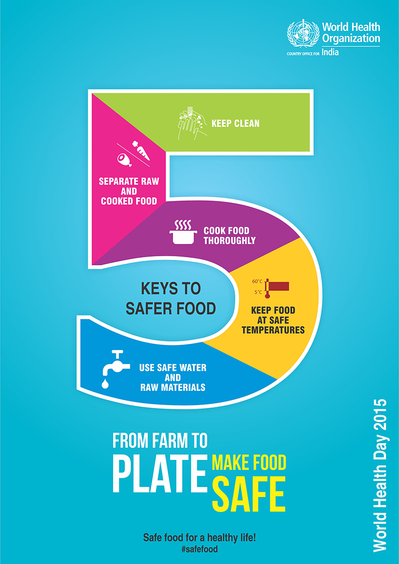 Poster 8: From Farm to Plate - Make Food Safe