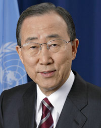 — BAN KI-MOON, UNITED NATIONS SECRETARY-GENERAL