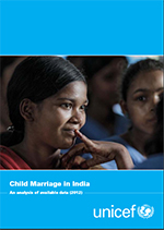 Child Marriage in India - An analysis of available data (2012)