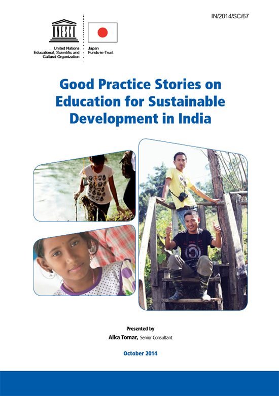 10.Good practice stories on education for sustainable development in India