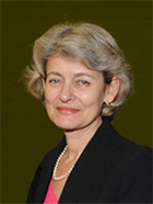 Ms Irina Bokova, Director-General, UNESCO and Member of the GEFI Steering Committee on the occasion of the Joint UN Advocacy for Education Campaign, September 2015