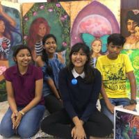21-year-old Sathviga Sridhar from India wins first ever UNICEF climate comic contest