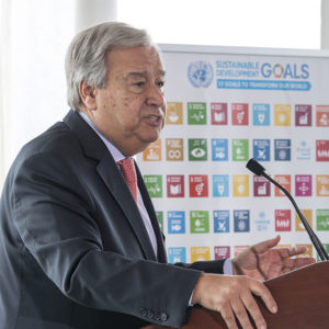 Secretary-General's remarks at High-Level Event on Climate Change