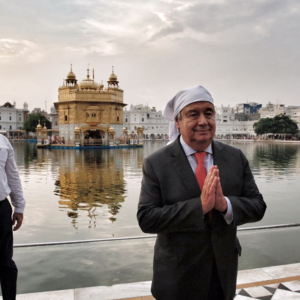 The Secretary-General's comments at the Golden Temple