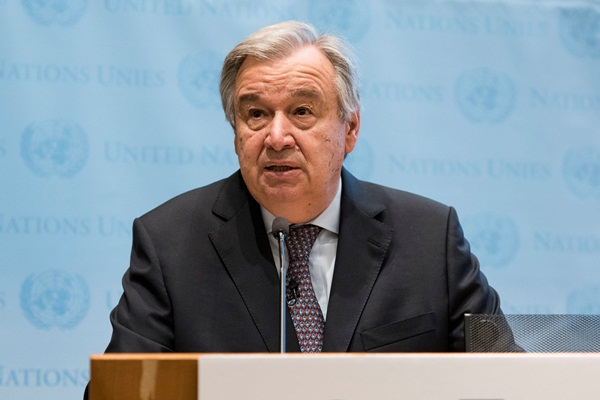Secretary-General António Guterres's Press Encounter New York