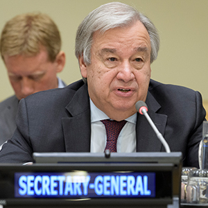 Secretary-General warns conflicting demands creating unsustainable stress on marine, coast...