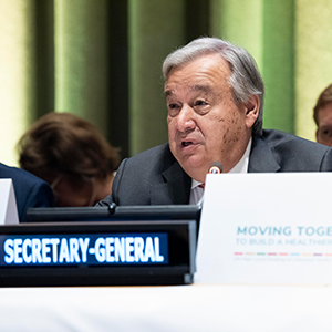 THE SECRETARY-GENERAL  VIDEO MESSAGE ON THE 30TH ANNIVERSARY OF THE CONVENTION ON THE RIGH...
