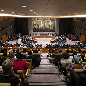 Secretary-General: Pledges on Women's Rights Have Not Translated into Real Change Nearly...