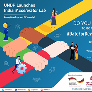 To meet 21st century development challenges, a 21st century solution: UNDP launches India ...