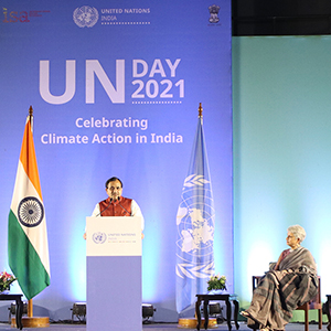 United Nations in India celebrates climate action on UN Day